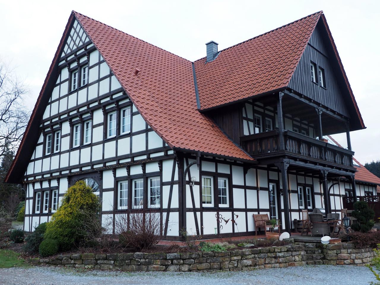 vakwerkhuis voor Wellingholzhausen