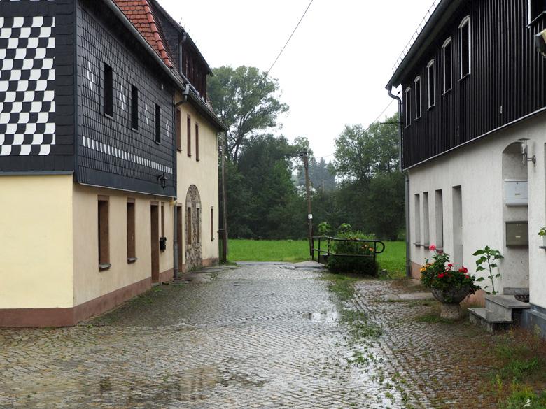 aankomst bij de Brettmühle