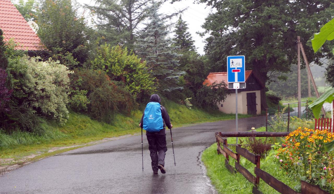 onderweg vanuit Neudörfel