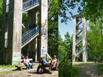 op en rond de Varusturm op de Lammersbrink