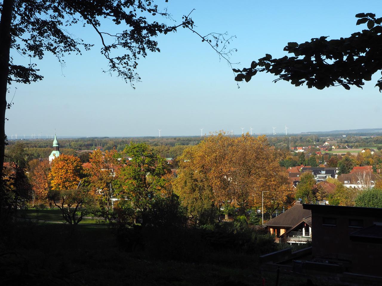 het uitzichtpunt Bad Essen