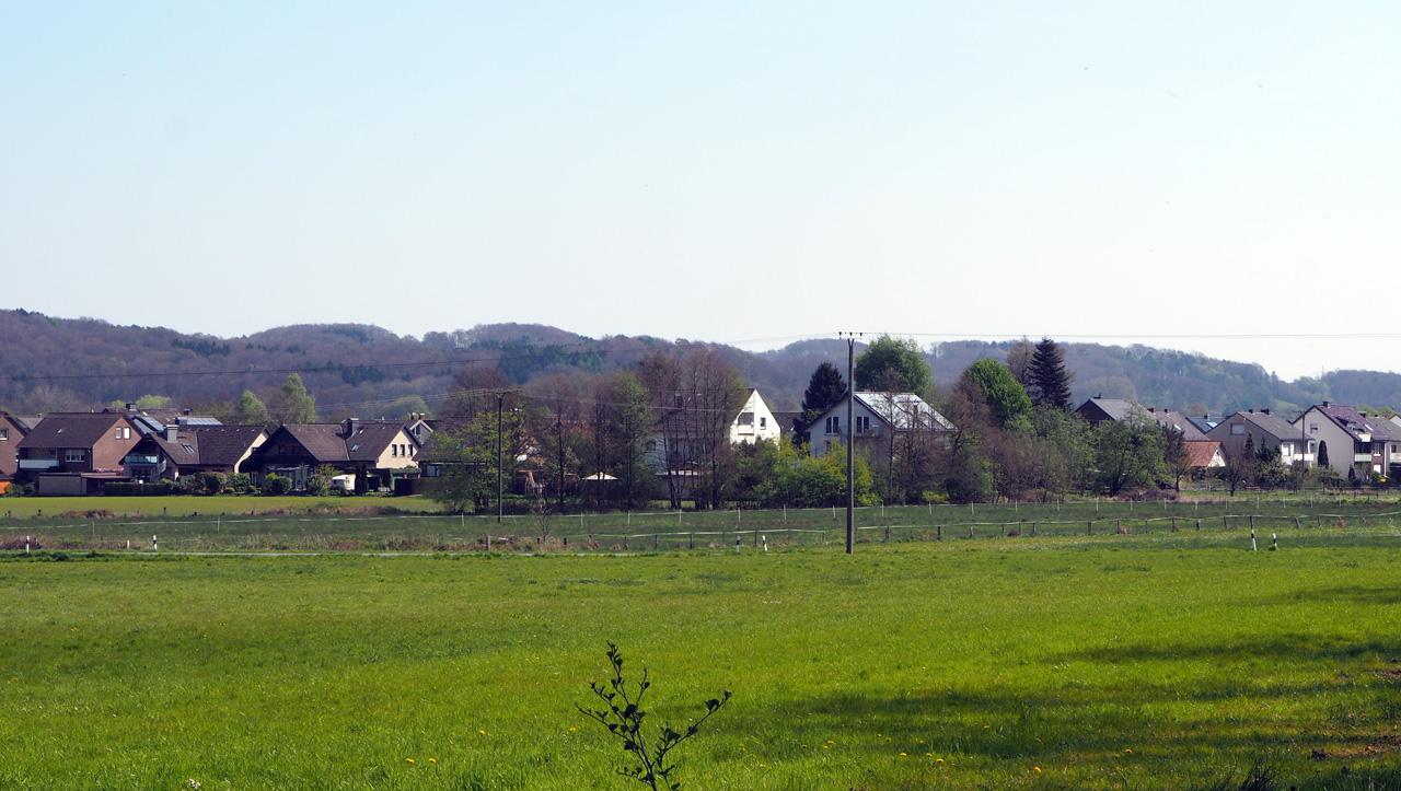 zicht op Natrup-Hagen