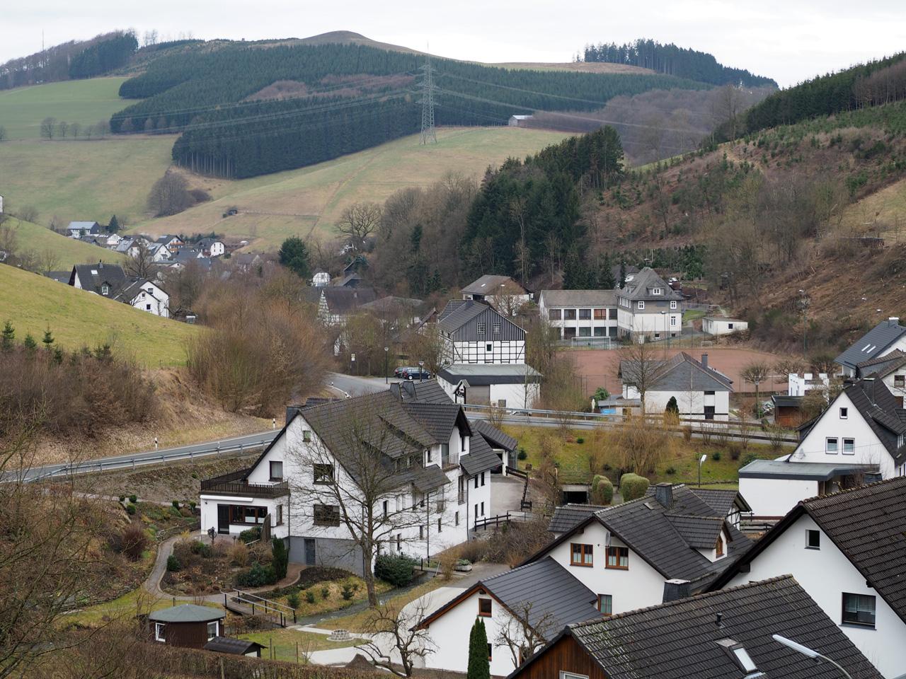 zicht op Kirchrarbach