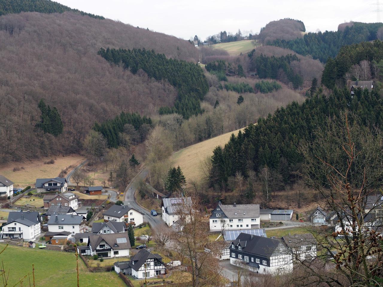 uitzicht op het centrum van Sögtrop