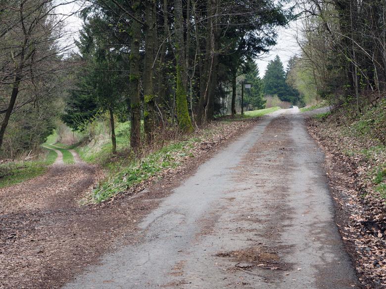 het laatste stukje asfalt