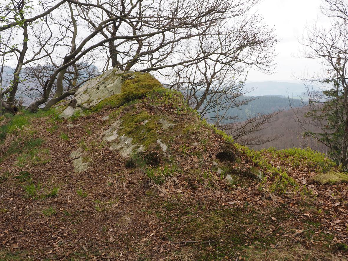 het uitzichtpunt Birkegge