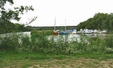 Camping aan de Main met haven voor plezierboten