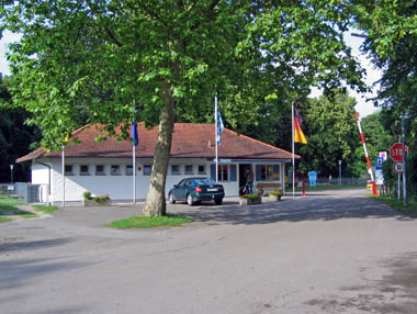 Receptie camping Am Auwaldsee Ingolstadt Duitsland