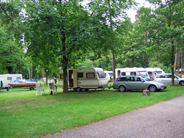 ruime plaatsen op camping Am Auwaldsee Ingolstadt