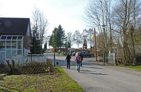 ingang van het Ferienpark Teutoburgerwald