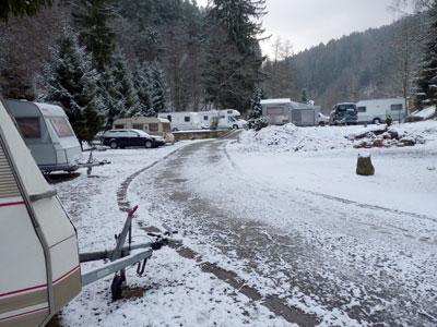 camping Ostrauer Mühle bij Bad Schandau