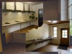 een grote ruimte voor koken en afwassen