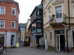 het toeristische stadje Bad Schandau