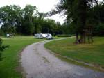 het speciale veld voor campers