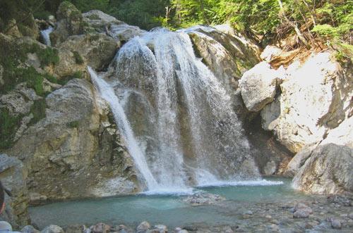 ...en overal prachtige watervalletjes