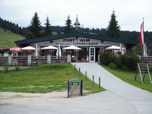 Lienbachhof, startpunt van de rondwandeling