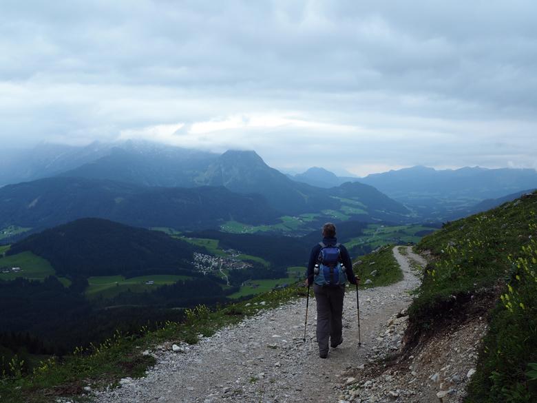 recht pad omlaag naar Pommer