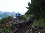 onderweg over de Dachstein Rundwanderweg