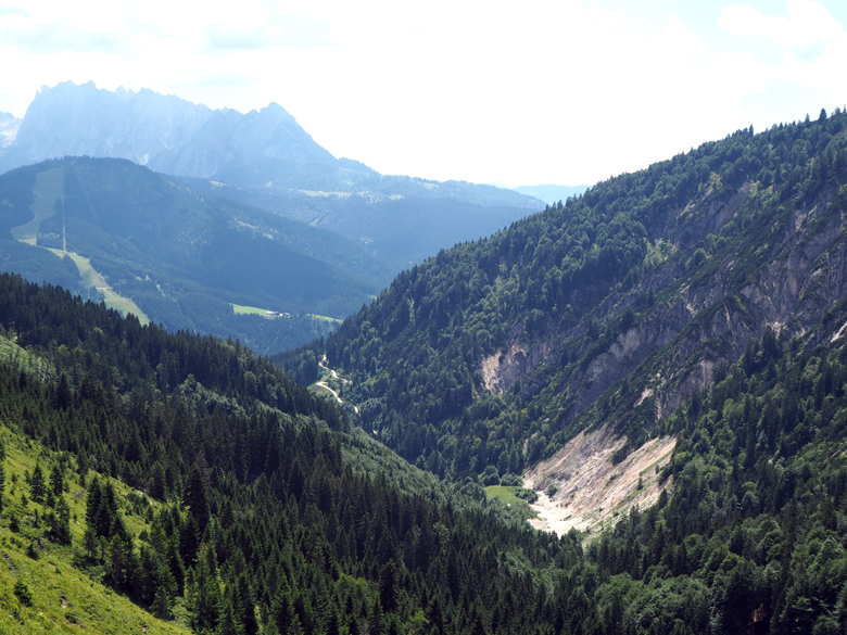 terugblijk op de Dachstein gletsjers