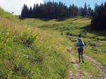 mooie klim over de Traunwaldalm