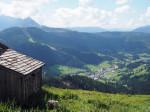 wandelpad boven de Traunwaldalm