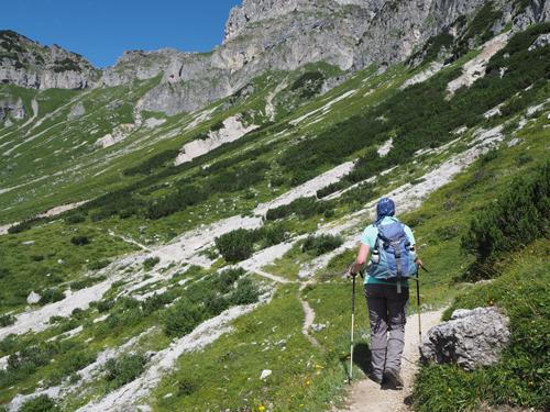 over de Dachstein Rundwanderweg