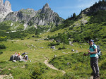 de prachtige klimm naar de Dachstein Rundwanderweg