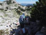 een korte Steig naar de Däumelsee