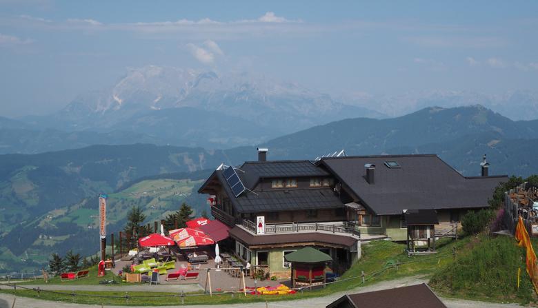 het mooi gelegen Gasthof Koglalm