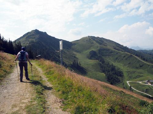 de reeks toppen die we gaan beklimmen