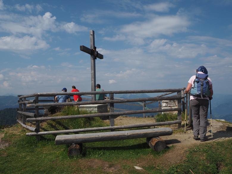 boven op de Kriegerkreuz