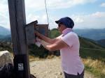 op de top van de Griessenkareck