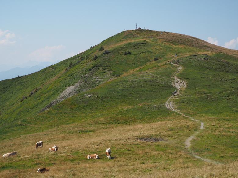 op weg naar de volgende bergtop