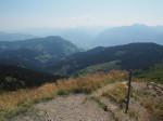 op de top van de Schneebergkreuz