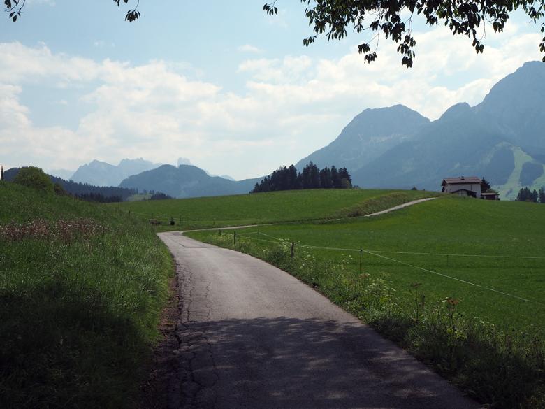 kronkelweg over de Alm