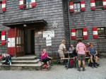 lunchen bij de Hofpürglhütte