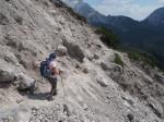 op de Dachstein Rundwanderweg