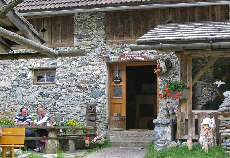 Kochlöffelhütte en speeltuin