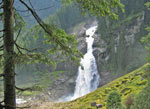 Krimml waterval met veel Kanzels die we vooral op de terugweg bezocht hebben toen het er rustiger was