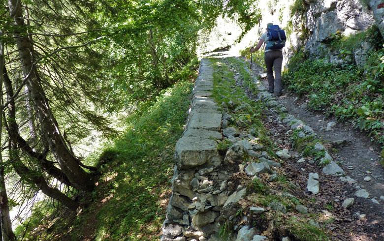 over een oude Romeinse weg