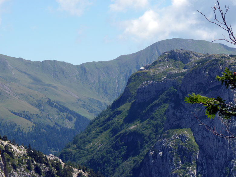 een zeer mooie klim met schitterende uitzichten