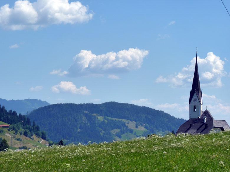 het dorpje Embach