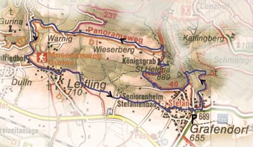 Wandelkaart Grafendorf
