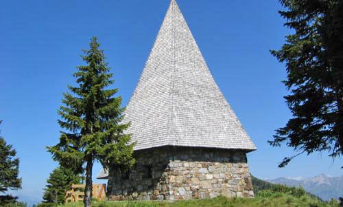 Friedenskapelle bij de Steinwenderhütte