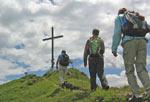 Eindelijk bij het kruis