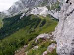Grat wandeling naar de Garnitzenberg