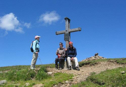 Gipfelkreuz Hochalfennock