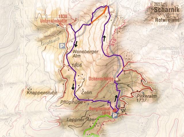 routekaart