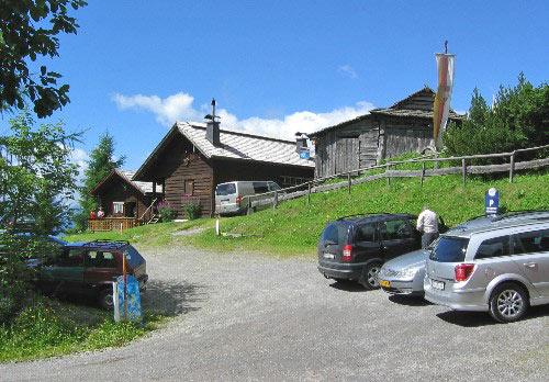 Parkeerplaats Bergheimat