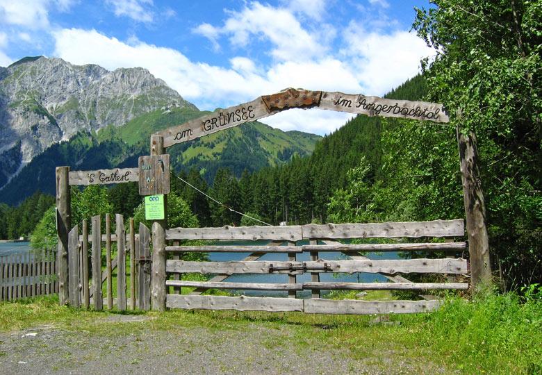 toegang tot de Grünsee